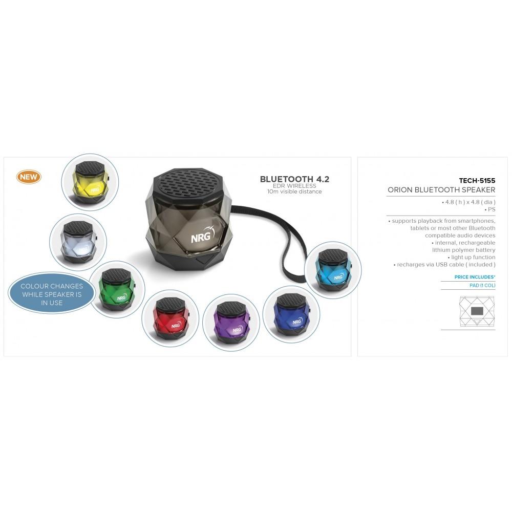 Orion Bluetooth Speaker Black