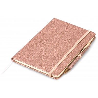 Sparkle A5 Notebook Rose Gold