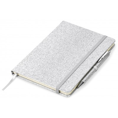 Sparkle A5 Notebook Silver