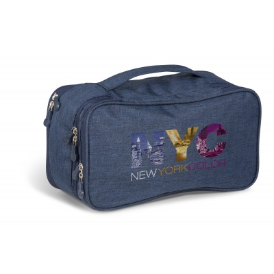 Santa Monica Deluxe Toiletry Bag Navy