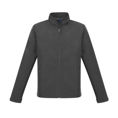 Mens Pinnacle Softshell Jacket Grey Size Medium