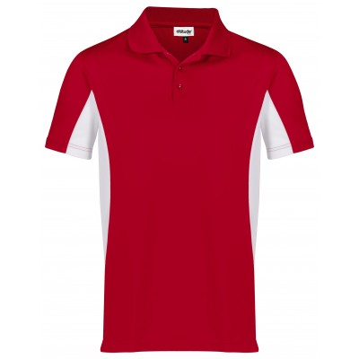 Kids Championship Golf Shirt Red Size 4