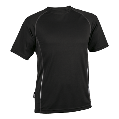 BRT Kiddies Running Shirt Black Size 7 to 8