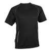 BRT Kiddies Running Shirt Black Size 7 to 8