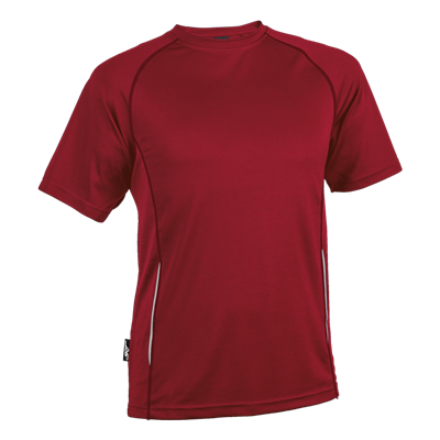 BRT Kiddies Running Shirt Red Size 9 to 10