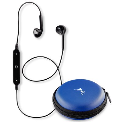 Nitrate Bluetooth Earbuds Blue
