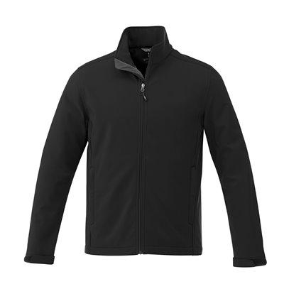 Mens Maxson Softshell Jacket Black Size 3XL