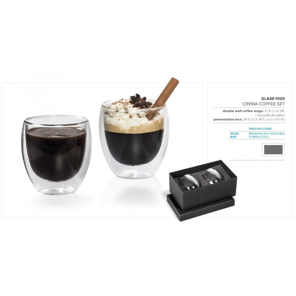Crema Coffee Set