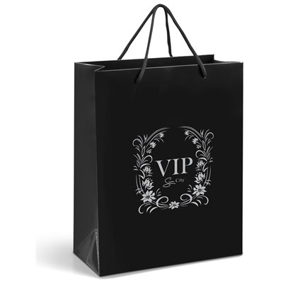 Dazzle Midi Gift Bag Black