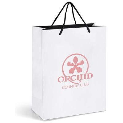 Dazzle Midi Gift Bag White
