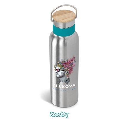 Kooshty Congo Water Bottle - 600ml Turquoise