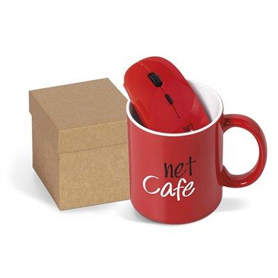 Omega On The Desk Gift Set -330ml Red