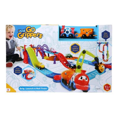 Bright Starts Go Grip Grip, Launch & Roll Train