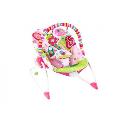 Bright Starts Pip Raspberry Garden Baby To Big Kid Rocker