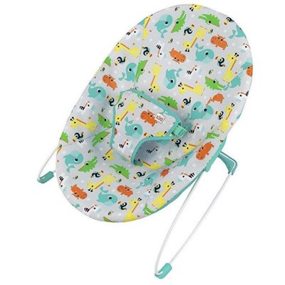 Bright Starts Safari Fun Vibrating Bouncer