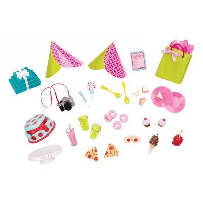 Our Generation Classic R.S.Be.Me Party Planning Accessory Set