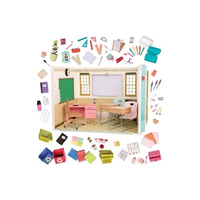 Our Generation Deluxe Awesome Academy Playset With Accessories