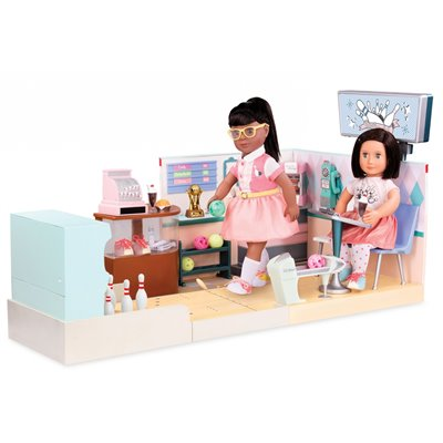Our Generation Deluxe Let It Roll Bowling Alley Playset