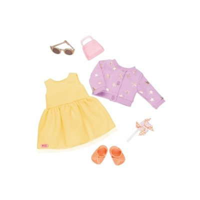 Our Generation Deluxe Summer Dress Outfit - Sunshine And Stars