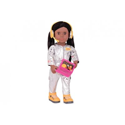 Our Generation Pro Doll Astronaut Laura 18Inch D/Brown Hair