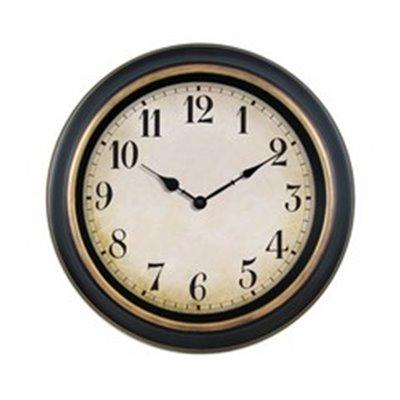 Antique 40cm Wall Clock Brown