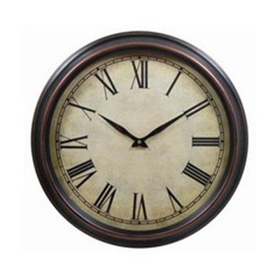 Historic 45cm Wall Clock Brown