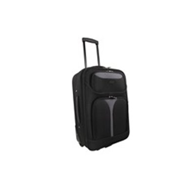 Marco Soft Case Luggage Bag - 24 inch Black/Grey
