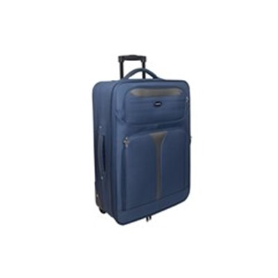 Marco Soft Case Luggage Bag - 24 inch Blue/Grey