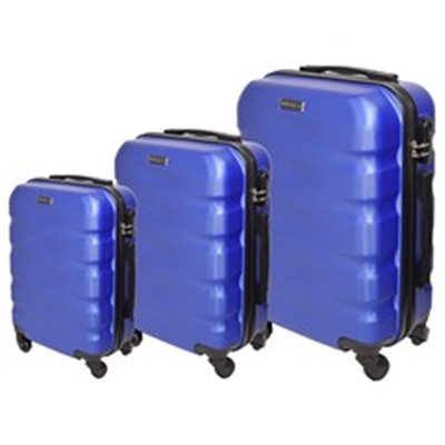 Marco Aviator 3-Piece Luggage Set Blue