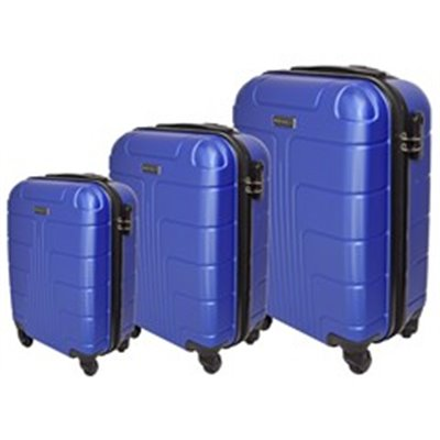 Marco Expedition 3-Piece Luggage Set Blue