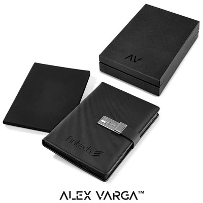 Alex Varga Chapman Code-Lock Notebook Black