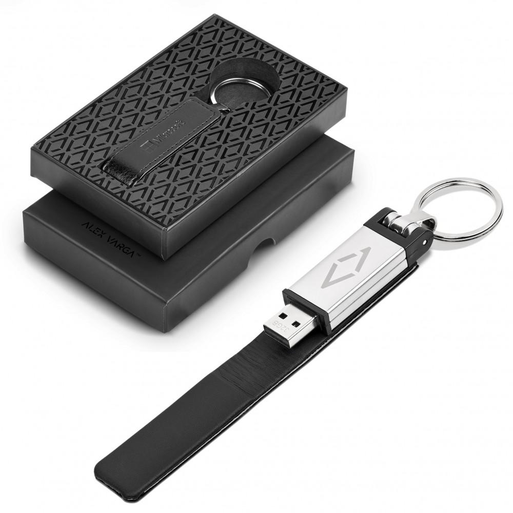 Alex Varga Hanssen 32GB USB Flash Drive Keyholder Black