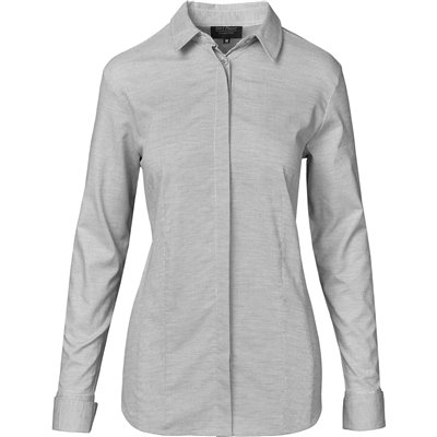 Gary Player Ladies Long Sleeve Taylor Shirt Grey Size XL