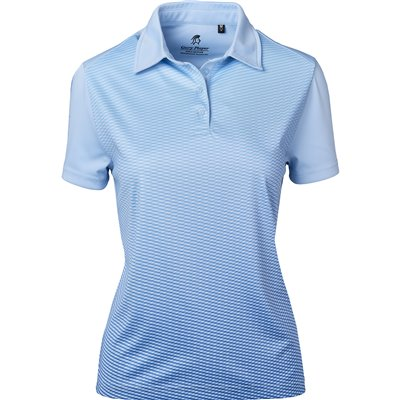 Gary Player Ladies Masters Golf Shirt Light Blue Size L