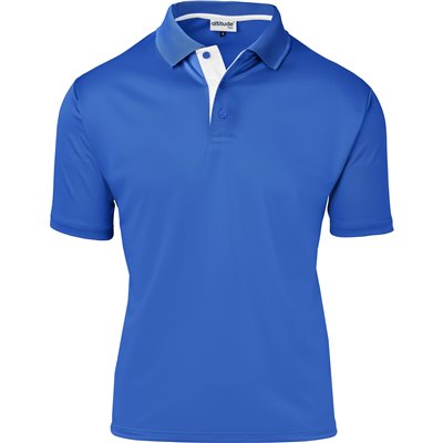 Kids Tournament Golf Shirt Royal Blue Size 10