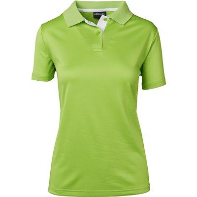 Ladies Tournament Golf Shirt Lime Size 2XL