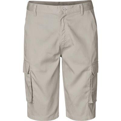 Mens Highlands Cargo Shorts Stone Size 44