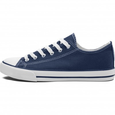 Unisex Trendi Canvas Sneaker Navy Size 9
