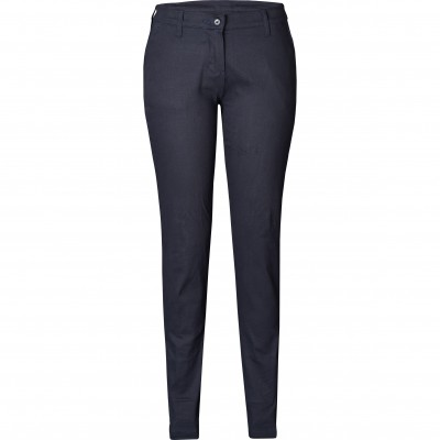 US Basic Ladies Superb Stretch Chino Pants Navy Size 38