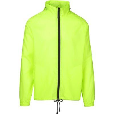 Unisex Cameroon Rain Jacket Lime Size 4XL