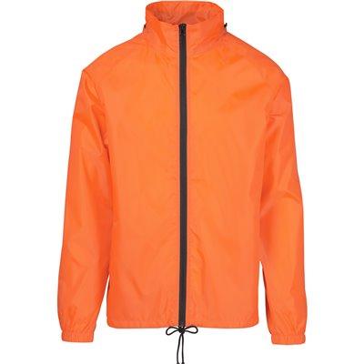 Unisex Cameroon Rain Jacket Orange Size 4XL