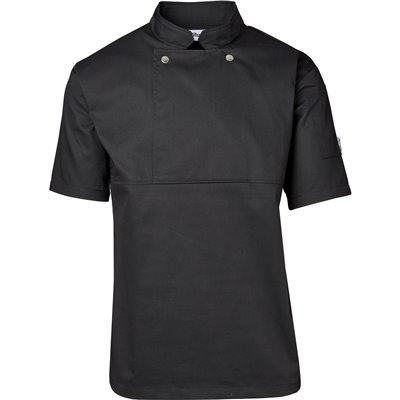 Unisex Short Sleeve Cannes Utility Top Black Size 3XL
