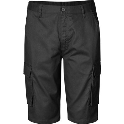 Mens Highlands Cargo Shorts Black Size 34