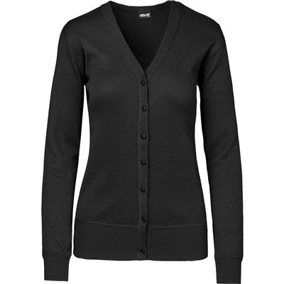 Ladies Waverley Cardigan Black Size 2XL