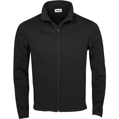 Kids Palermo Softshell Jacket Black Size 14