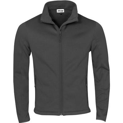 Kids Palermo Softshell Jacket Grey Size 10