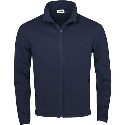 Kids Palermo Softshell Jacket Navy Size 6