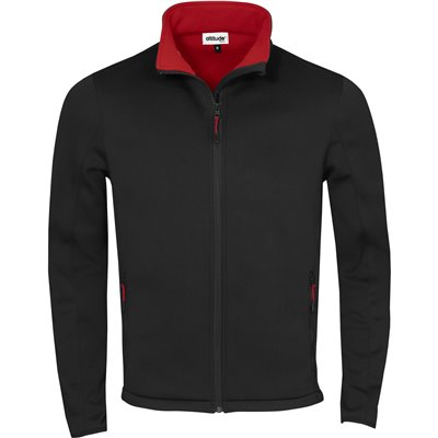 Kids Palermo Softshell Jacket Red Size 8