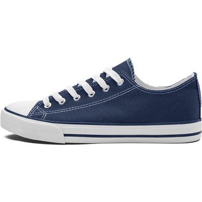 Unisex Trendi Canvas Sneaker Navy Size 3