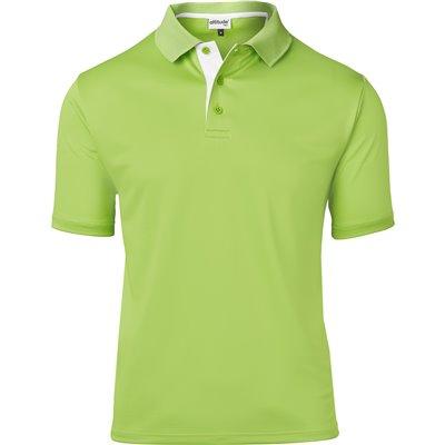Kids Tournament Golf Shirt Lime Size 14